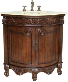 Montage Antique Style Bathroom Vanity Single Sink 60 | Tuscan Decor |  Pinterest | Single Sink, Tuscan Style And Bathroom Vanities