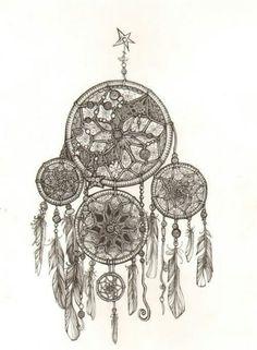 Acchiappa sogni  Bianco e nero ⚪⚫ Dreams