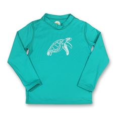 Sea Turtle Long Sleeve Rash Guard