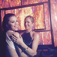 Et avec la grande Jennifer Aniston !