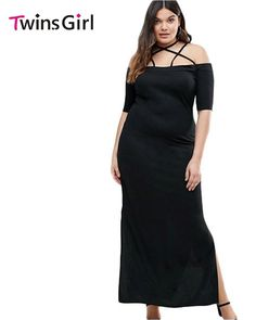 2017 Summer New Sexy Plus Size Clothing For Women Dresses Off the Shou – Alfs Fashion