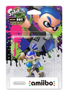 Amiibo - Inkling Boy (Splatoon) (Merchandise) kopen/bestellen - Nedgame