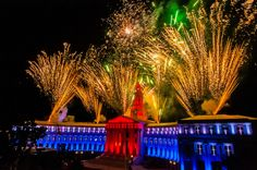 Independence Eve fireworks Denver CO I was on the pyro team that made it happen!!