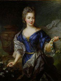 Marie Anne de Bourbon princesse de Conti 1666-1739