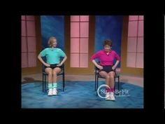 Sit and Be Fit - Osteoporosis Workout - Mary Ann Wilson, RN -  Bone Density Exercises