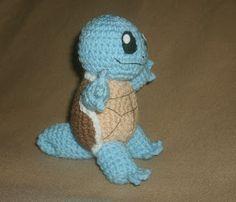 Squirtle! A free crochet pattern. (Pokemon)