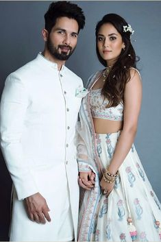 Shahid Kapoor- Mira Rajput Walk Hand-in-Hand As Showstoppers For Anita Dongre At Lakme Fashion Week 2018