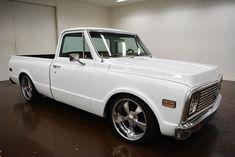Nice Great 1971 Chevrolet C-10 SWB 1971 Chevrolet C10 SWB 96514 Miles White Pickup Truck 5.7 Liter 350 V8 700 R4 2018