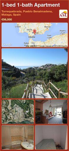 Apartment in Torrequebrada, Pueblo Benalmadena, Malaga, Spain Benalmadena, Fitted Bathroom, Permanent Residence, Malaga Spain, Murcia, Apartments For Sale, Seville, Mountain View, Lisbon