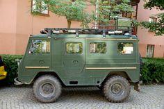 VOLVO TGB 4X4 Expedition Camper van.  I want this!