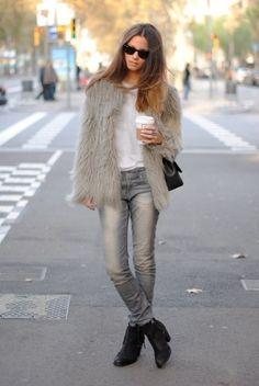 softness, texture -a longhair sweater?