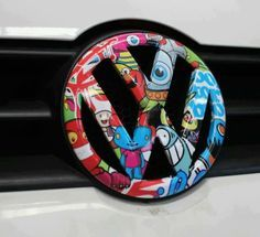 Sticker bomb emblem