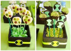 Alien themed birthday party via Kara's Party Ideas