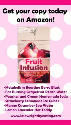 Fruit Infused Drinks for weight loss