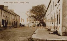 Old Images of Ireland: Pictures of County Clare - Tulla . Ireland Pictures, Images Of Ireland, County Clare, Old Images, Bathroom Organisation, Places Ive Been, England, Street View, England Uk