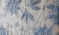 Alabama Chanin fabric closeup