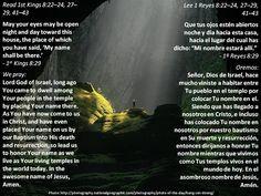 Where His name is + Donde Su nombre está  Passage: https://www.biblegateway.com/passage/?search=1+Kings+8%3A22%E2%80%9324%2C+27%E2%80%9329%2C+41%E2%80%9343&version=ESV;LBLA;NLT;NCV;MSG