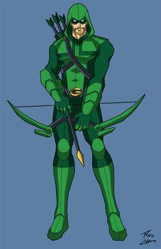 Green Arrow by phil-cho