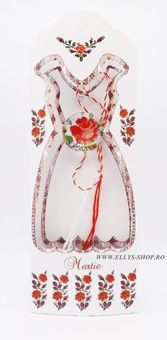 Brosa martisor cusatura traditionala trandafir - Ellys Shop Crown, Shopping, Jewelry, Art, Fashion, Art Background, Moda, Corona, Jewlery