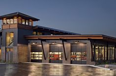 Northstar's fire station, which was designed by Ward-Young Architecture in Truckee,