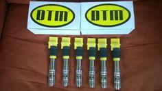 JUST ARRIVE new DTM GENESIS YELLOW COILS PORSCHE 6 CLD V6-3200cc+3600cc AUDI V6 3,2 + 3,6 VW V6 3,2+3,6