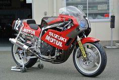 Yoshimura Suzuki GSX-R750 - 1986 Suzuka 8 Hours Endurance
