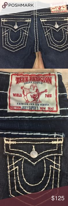 Selling this True Religion Joey Super T on Poshmark! My username is: runnerprincess. #shopmycloset #poshmark #fashion #shopping #style #forsale #True Religion #Denim