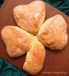 Irish soda Bread Shamrock Recipe