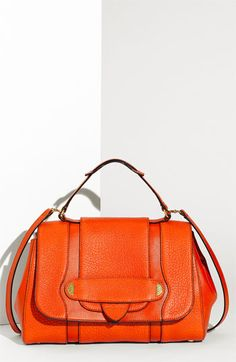 Marc Jacobs Crosby Thompson top handle satchel in orange :)