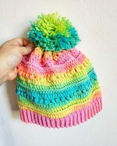 Crochet Beanie Ideas Napa beanie free crochet pattern by plumdrop designs. The hat of every little girls dreams! Crochet Toddler Hat, Crochet Kids Hats, Crochet Girls, Crochet Baby, Free Crochet, Knitted Hats, Crochet Dresses, Easy Crochet, Crochet Designs