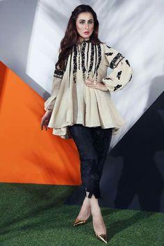 Latest Summer Short Frock Fashion for Girls - Mode Für Alle Pakistani Dress Design, Pakistani Outfits, Indian Outfits, Pakistani Kurta, Pakistani Clothing, Eid Outfits, Frock Fashion, Women's Fashion Dresses, Girl Fashion