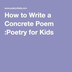 Poetry Writing Lessons for Kids :Poetry for Kids Teaching Poetry, Writing Poetry, Poetry Unit, Teaching Writing, Student Teaching, Writing Activities, Essay Writing, Teaching Ideas, Limerick For Kids