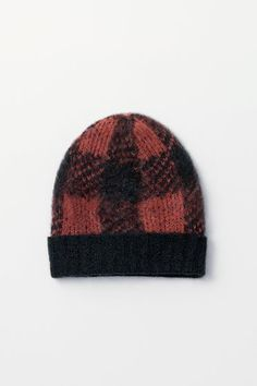 Cammie Plaid Beanie hats accessories winter