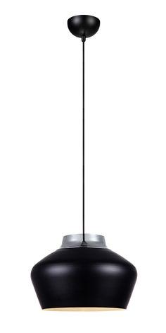 Kom taklampa från Markslöjd. Skärm i metall. 1,5 meter textilklädd kabel med krokupphäng. Takkontakt klass 1 (Jordad) medföljer. Stor (E27) lamphållare för max 60W glödljus eller motsvarande styrka i halogen, lågenergi eller LED. #gästdesigner #monicamulder #gusetdesigner #light #lamp #lampa  #interior #interiör #inspiration