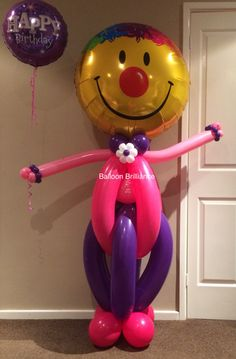 """Our most popular balloon delivery"" #balloonclown #sendballoonscanberra…"