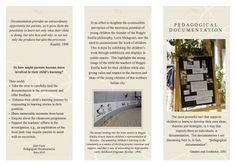 The Value of Documentation Reggio Emilia Classroom, Reggio Inspired Classrooms, Educational Leadership, Educational Websites, Reggio Documentation, Visible Thinking, Emergent Curriculum, Learning Stories, Family Day Care