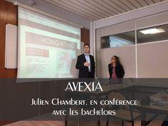 Avexia - Julien Chambert, à la rencontre des Bachelors de l'ESCAET