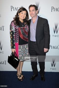 Samantha Daniels (L) and Steve Farber attend a cocktail party to kick-off Independent Spirit Awards and Oscar weekend hosted by Piaget and The Weinstein Company on February 24, 2017 in Los Angeles, California.