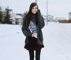 flattery: The Year of the Tiger Winter fashion inspiration. Details of pieces on the blog: http://www.flattery.ca