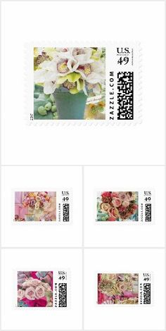 Wedding/Special Event Postage Stamps