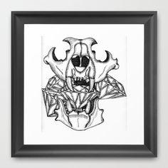 Confrontación Framed Art Print by Brave_Corona - $33.00