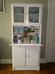 Vintage 1950s Kitchen Larder Cupboard Dresser Cabinet Storage Unit