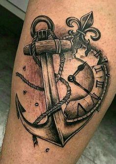 ideas tattoo ideen unterarm kompass for 2019 - Tattoo's ❤ - Hand Tattoos, Forearm Tattoos, Body Art Tattoos, Tatoos, Life Tattoos, Anker Tattoo Design, Compass Tattoo Design, Trendy Tattoos, Tattoos For Guys