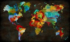 Color My World Impressão artística