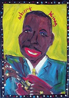 Albert King by Lamar Sorrento