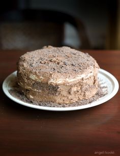 Lekker knapperige en luchtige Christoffeltaart met chocolade en chocolademousse. Daar blijf je van eten