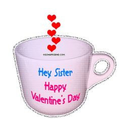 valentine day sister message