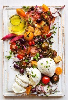 caprese salad...