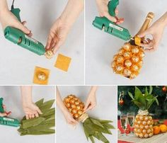 Amazing gift bottle idea