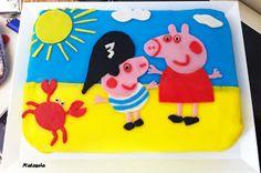 Torta Peppa Pig e George Pirata | A Tea for U